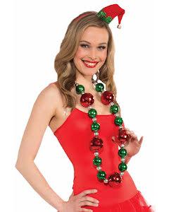 Halsband, julgranskulor