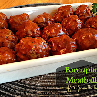 Baked Porcupine Meatballs Tomato Soup Recipes