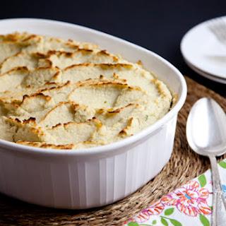 Mock Mashed Potato Shepherd's Pie