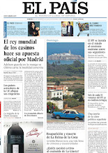 Photo: El rey mundial de los casinos hace su apuesta oficial por Madrid, los países acreedores de la UE aflojan sus exigencias y los peñones 'indefendibles' de soberanía española, en la portada de la edición nacional del 9 de septiembre de 2012 http://srv00.epimg.net/pdf/elpais/1aPagina/2012/09/ep-20120909.pdf