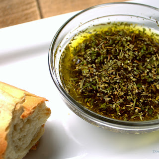 Olive Oil Dipping Sauce.