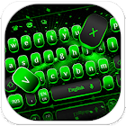Black Green Technology Metals Keyboard icon