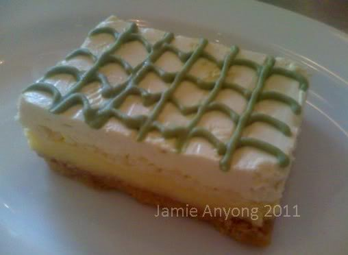 wasabi kitkat cake