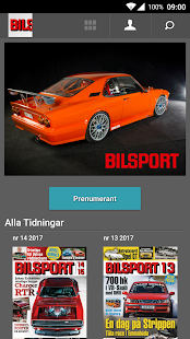 Bilsport- screenshot thumbnail