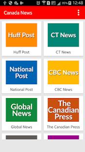 Canada News - Toronto News - náhled