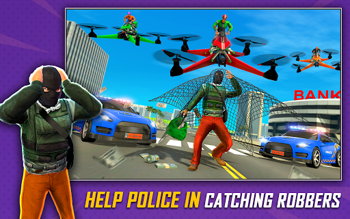 Drone Rescue Simulator: Flying Bike Transport Game android2mod screenshots 12