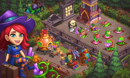 Monster Farm: Happy Ghost Village & Witch Mansion modavailable screenshots 6