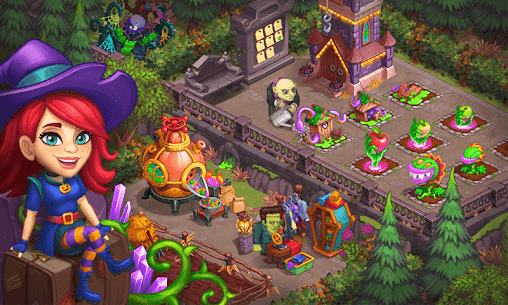 Monster Farm – Happy Ghost Village – Witch Mansion 6