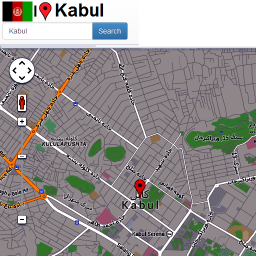 Kabul Maps