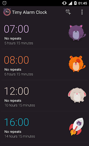 Alarm clock 1.0.5.2 screenshots 1