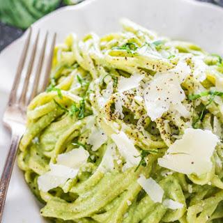 Creamy Avocado and Spinach Pasta Recipe