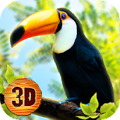 Toucan Bird Simulator 3D