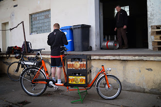 Photo: Naše první cesta vedla pro náklad ze Svijan.  Autorka: Sylva Švihelová