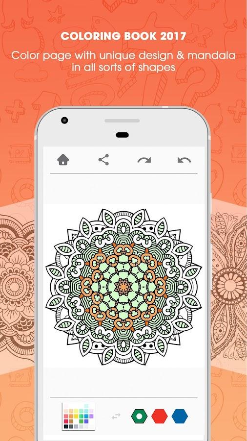 Colorfy Mandala Coloring Book Screenshot
