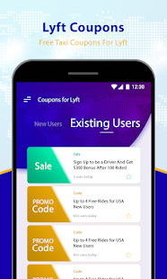 Free Taxi Coupons for Lyft Cab