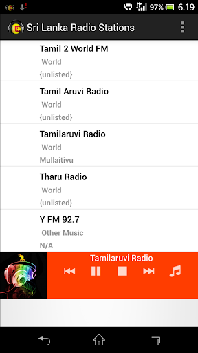 Sri Lanka Radio Stations by Digital Radios (Google Play, United