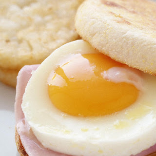 Ham and Egg English Muffins