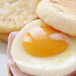 Ham and Egg English Muffins.