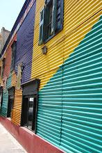 Photo: Entering colorful La Boca neighborhood
