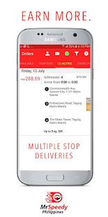 Download Full MrSpeedy: Motorbike, Car, Van Courier Jobs 2.37.2 APK