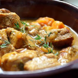 Easy Vegetable Veal Stew.