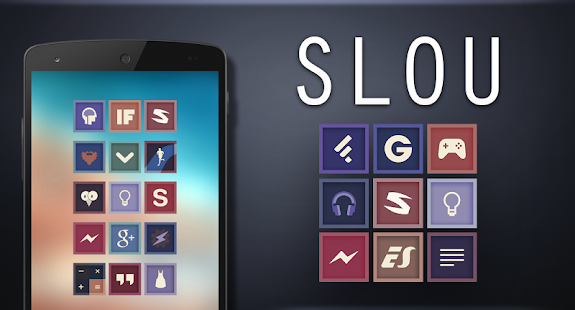 Slou - Icon Pack Screenshot