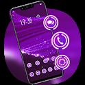 Colorful theme Purple luminescent fiber Y21L icon