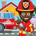 Pretend my Fire Station: Town Firefighter Life icon
