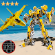 Robot Airplane Simulator Flying Robot Transforming APK