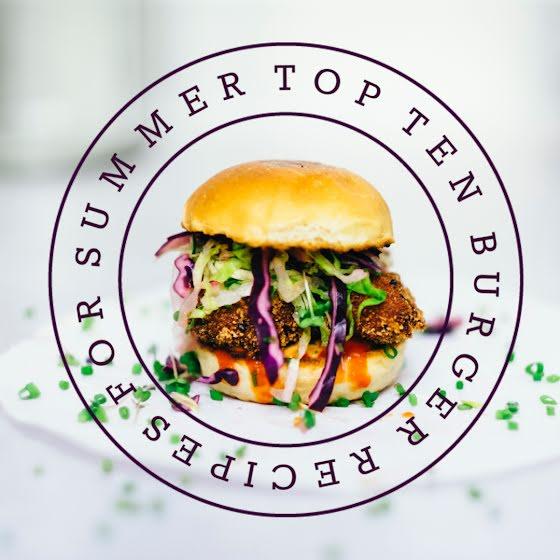 Top Ten Burgers - Instagram Post Template