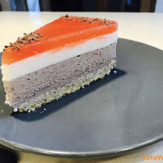 Low Carb Mousse Cake.