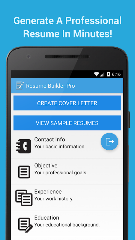 Download Resume Builder Pro Apk Varies With Device By Resume And