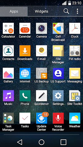 android UX 4.0 V10 Theme for LGHome Screenshot 1