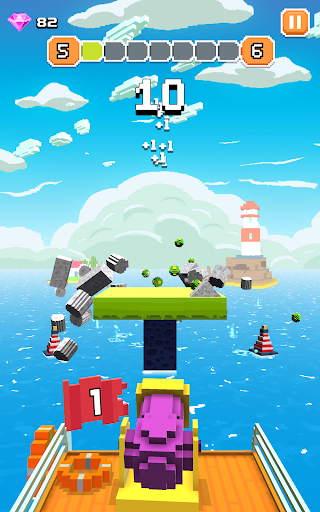 Blocky Tower - Knock Box Balls Ultimate Knock Out android2mod screenshots 13