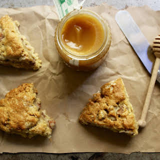 Roasted Quince and Honey Scones.