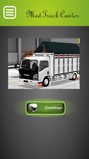 Mod Truck Canter Bussid Indonesia Update 2.0 screenshots 1
