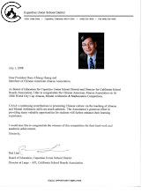Photo: Ben Liao, 廖本榮主任,加州學區協會 Director at Large - API, California School Boards Association