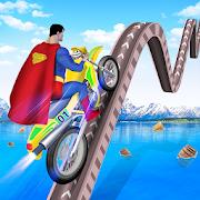 Superhero Bike Stunt Tricky Master