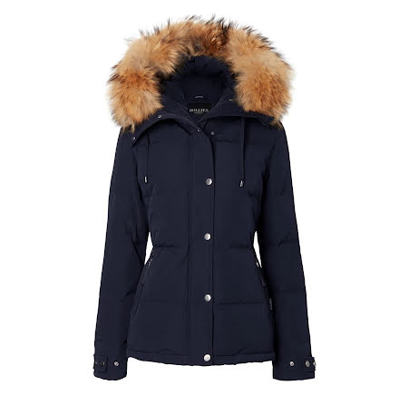 Jay Peak, Navy/Natural - Hollies