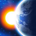 3D EARTH PRO - local weather forecast & rain radar icon