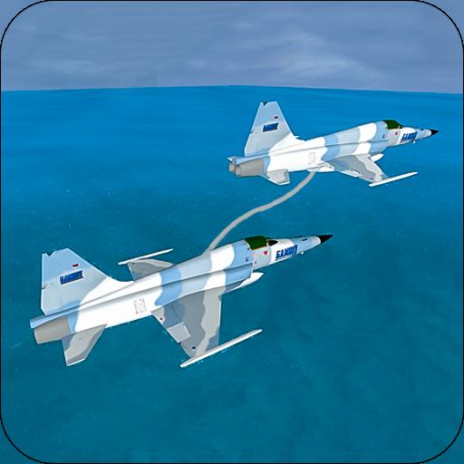 Flying plane refueling - simulator games