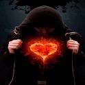 Fiery Heart Live Wallpaper icon