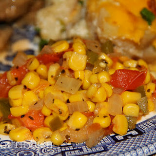 Winter Skillet Creamed Corn