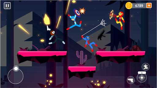 Code Triche Spider Stick Fight - Stickman Fighting Games APK MOD (Astuce) screenshots 4
