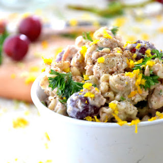 Easy Gluten Free Vegetarian Pasta Salad