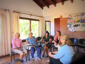 Photo: Conversation Club at Alianza Maldonado, Feb. 27