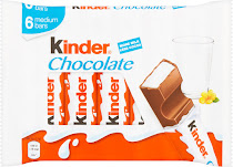 Kinder Snack Bars - 6pk, 126g