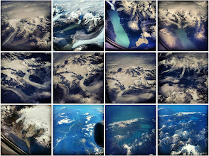 Photo: Views from the airplane of Patagonia from SCL to PUQ