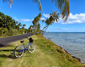 Photo: A nice day for a pedal around the island
