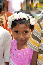 Photo: Photo of a little school girl taken by Pastor Rob Goodwin in 2007 when he went on a short-term mission trip with Dr. Raj of Concordia Seminary in St. Louis.